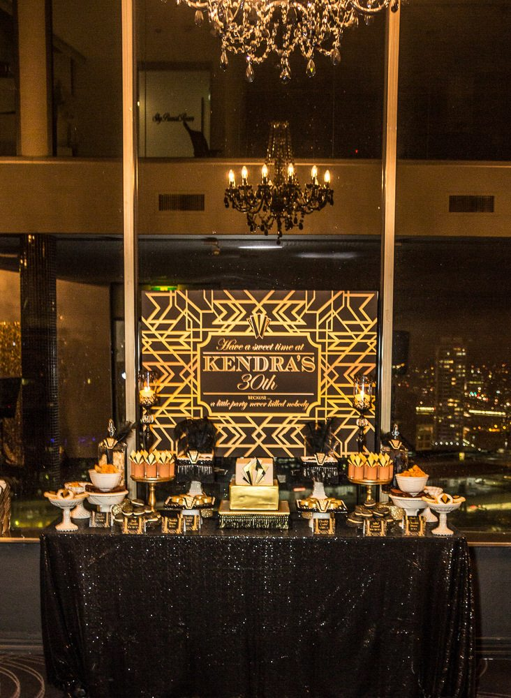 Event Stylist - Great Gatsby birthday party - Style My ...