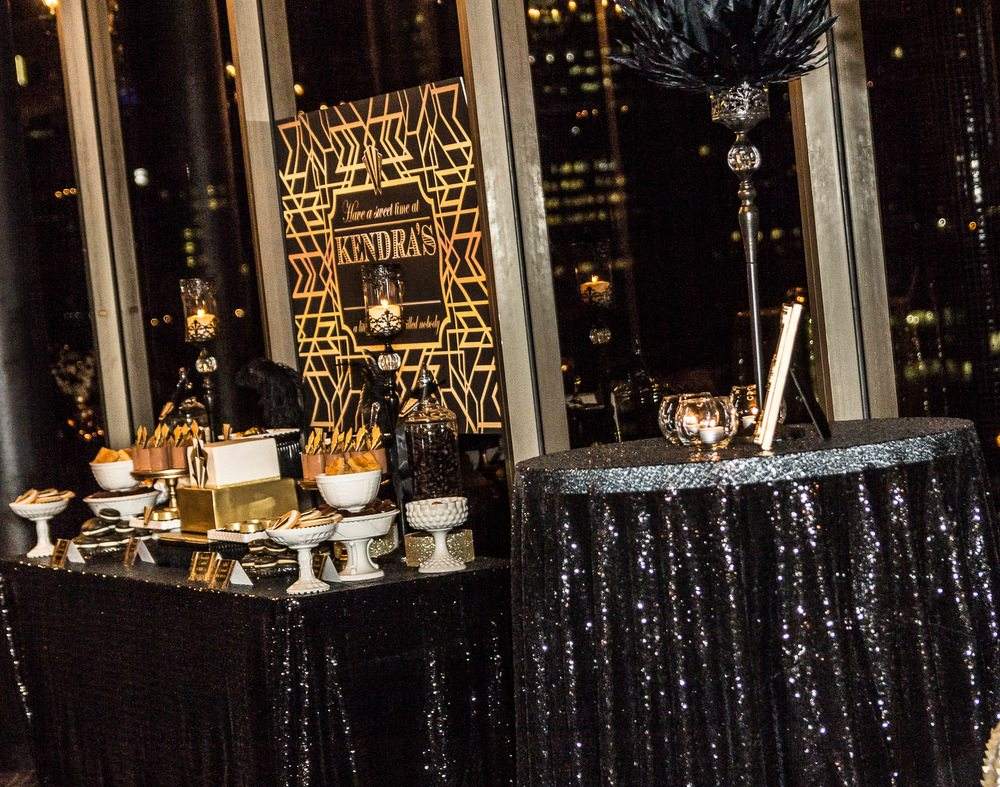 Event Stylist Great Gatsby Birthday Party Style My